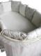 Комплект в кроватку Lappetti Эстель 5 (серый) -