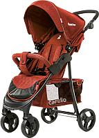 Детская прогулочная коляска Carrello Quattro CRL-8502 (deep red) -