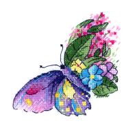 Набор для вышивания М.П.Студия Цветочный полет / В-539М -