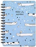 Блокнот Be Smart Feed Us Коты / N2663 -