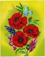 Набор для вышивания Школа талантов Вышивка пайетками. Маки / 4457138 -