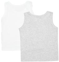 Комплект маек детских Mark Formelle 423304-2 (р.104-56, белый) -