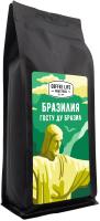 Кофе в зернах Coffee Life Roasters Бразилия / 5010 (1кг) -