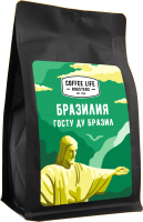 Кофе в зернах Coffee Life Roasters Бразилия / 5030 (250г) -