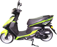 Скутер Racer Neo RC50QT-3X (зеленый) -