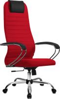 Кресло офисное Metta SU-BK-10 CH (красный) -