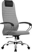 Кресло офисное Metta SU-BK-10 CH (светло-серый) -
