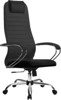 Кресло офисное Metta SU-BK-10 CH (темно-серый) -
