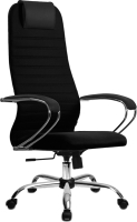 Кресло офисное Metta SU-BK-10 CH (черный) -