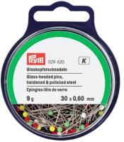 Булавка швейная Prym 029620 30х0.60 (9г, цветной) -