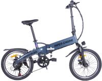 Электровелосипед HIPER Engine BF204 (синий металлик) -