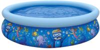 Надувной бассейн Jilong Sea World Pool / 17788 (205x47) -