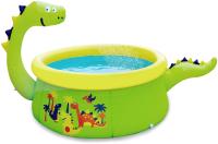 Надувной бассейн Jilong Dinosaur 3D Spray Pool / 17786 (175x62) -