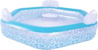 Надувной бассейн Jilong Giant Hexagon Family Pool / 57161 (223x211x58) -