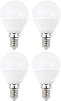 Набор ламп ETP G45 6W E14 4000K LED-диммер -