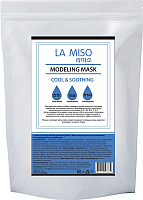 Маска для лица сухая La Miso Моделирующая альгинатная охлаждающая и успокаивающая (1кг) -