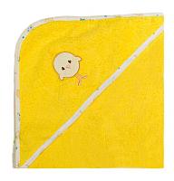 Полотенце с капюшоном Alis Зверята new (желтый) -