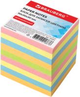 Блок для записей Brauberg 122341 (цветной) -