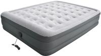 Надувная кровать Jilong High Raised Queen 203x157x47 / 27490EU (светло-серый) -