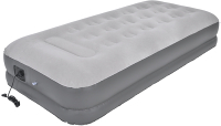 Надувная кровать Jilong High Raised Twin 195х94х37 / 24014EU (светло-серый) -