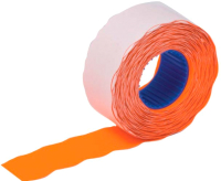 Этикет-лента Brauberg 123578 (оранжевый) -
