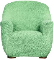 Чехол на кресло Софатэкс КПО-6 Милано без оборки (салатовый) -