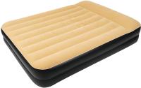 Надувная кровать Jilong High Raised Queen Air Bed 203x157x47 / 27229EU (бежевый) -