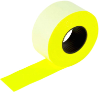 Этикет-лента Brauberg 128458 (желтый) -