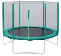 Батут KMS sport Trampoline 8 (d2.4м, зеленый) -