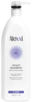 Шампунь для волос Aloxxi Violet Shampoo против желтизны (1л) -