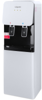 Кулер для воды Lagretti 85LDc (шкафчик 7л, черно-белый) -