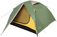 Палатка BTrace Vang 3 / T0480 (зеленый/бежевый) -