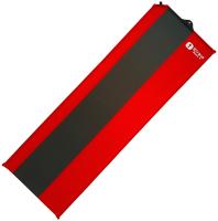 Туристический коврик BTrace Basic 4 / M0222 (183x51x3.8см, красный/серый) -