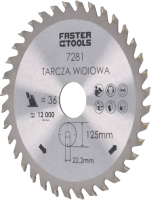 Пильный диск Faster Tools 7281 -