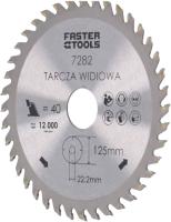 Пильный диск Faster Tools 7282 -