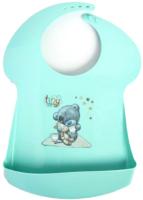 Нагрудник детский Пластишка Me To You с карманом / 2111492 (зеленый) -