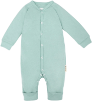 Комбинезон для младенцев Amarobaby Nature / AB-OD21-NМ5/34-68 (мятный, р. 68) -