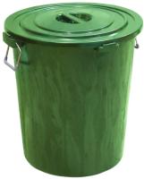 Контейнер для мусора ZETA ПЛИ-09282/З (90л) -