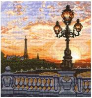 Набор для вышивания Сделай своими руками Парижский вечер / 3919325 -