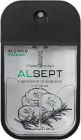 Антисептик Alsept С ароматом розмарина и огурца (40мл) -