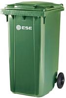 Контейнер для мусора Ese 240л (зеленый) -