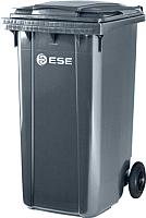 Контейнер для мусора Ese 240л (серый) -