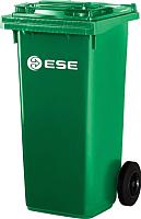 Контейнер для мусора Ese MGB 360л с крышкой (зеленый) -