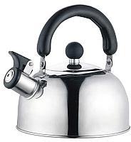 Чайник со свистком Perfecto Linea 52-012018 (серебристый) -