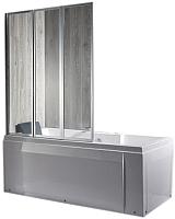 Стеклянная шторка для ванны Coliseum 214 120x140 (прозрачное стекло) -
