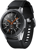 Умные часы Samsung Galaxy Watch 46mm / SM-R800NZSASER (серебристая сталь) -