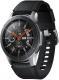Умные часы Samsung Galaxy Watch 46mm / SM-R800NZSASER (серебристая сталь) -