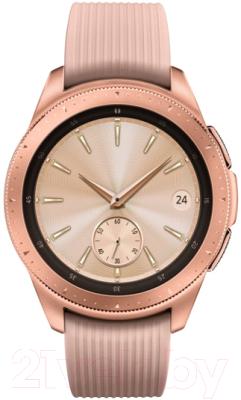 Умные часы Samsung Galaxy Watch 42mm / SM-R810NZDASER (розовое золото)