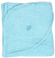 Полотенце с капюшоном Alis Махровое 110x80 (голубой) -