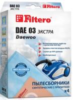 Комплект пылесборников для пылесоса Filtero Экстра DAE 03 (4шт) -